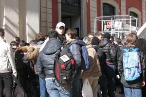 Protesta studenti Industriale