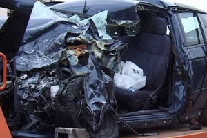 Incidente stradale macchina
