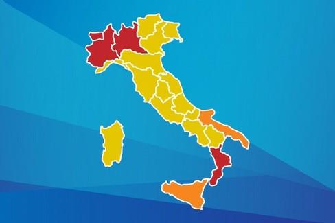 Mappa Regioni