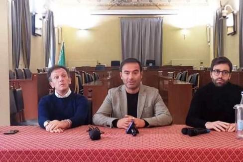 Conferenza stampa della Lega