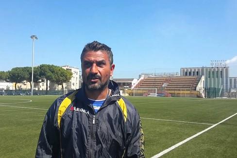 nella foto l'allenatore della Team Altamura Severo De Felice