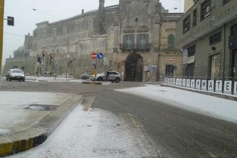Nevicata ad Altamura
