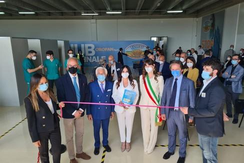Apertura centro vaccinale Oropan