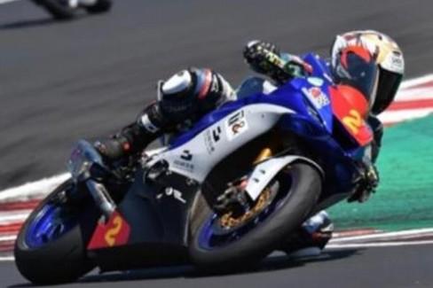 Vincenzo Ostuni in gara
