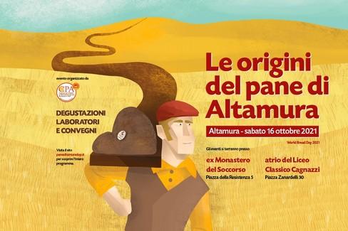Manifesto del CPA - Consorzo pane Altamura