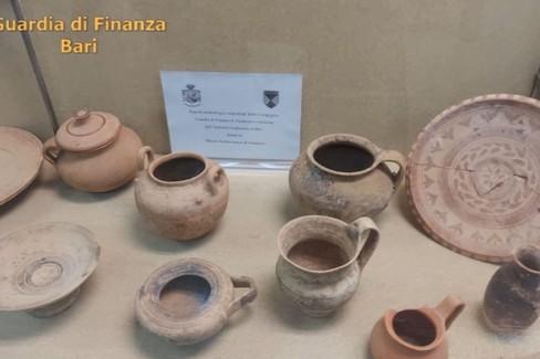Reperti archeologici confiscati