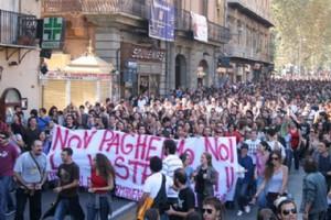Protesta Università