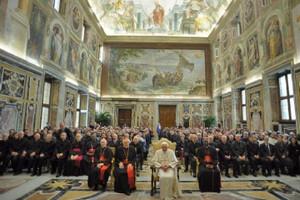 Udienza Papa Benedetto XVI
