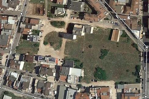 Area tra via Colletta e via Matera