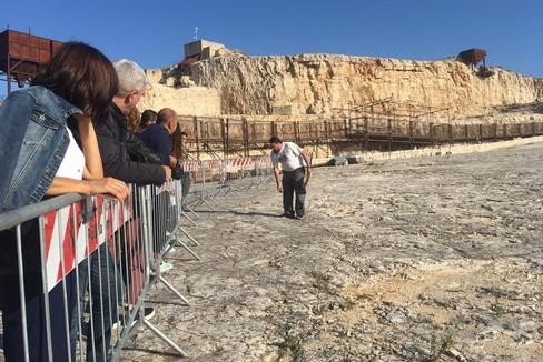 Visita alla Cava dei dinosauri