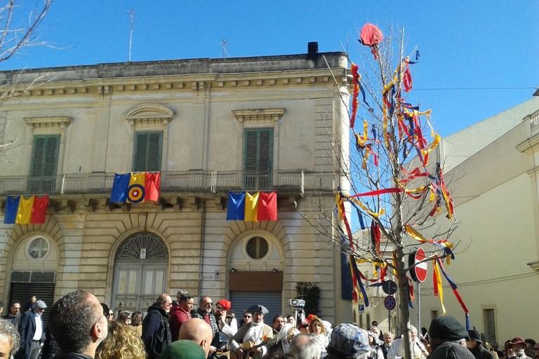 Albero della libertà in piazza Mercadante