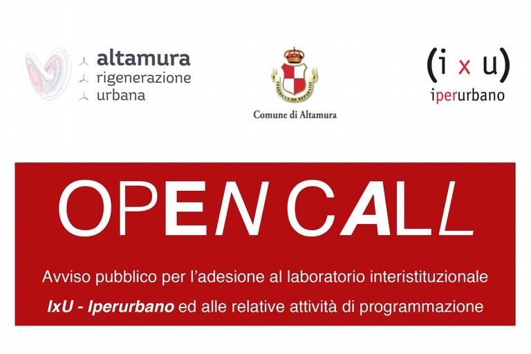 Altamura open call
