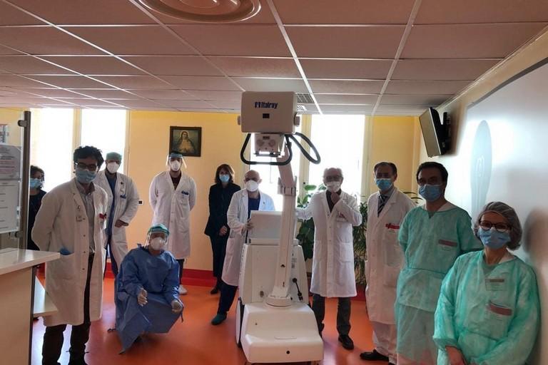 Donazione all'ospedale della Murgia
