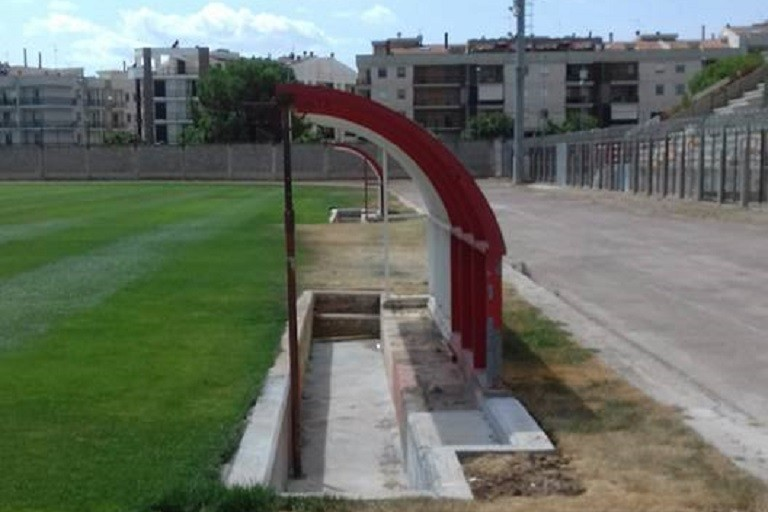 Panchine Stadio D'Angelo