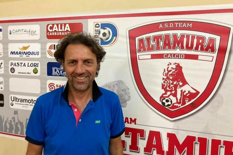 Pasquale De Candia- nuovo allenatore team Altamura