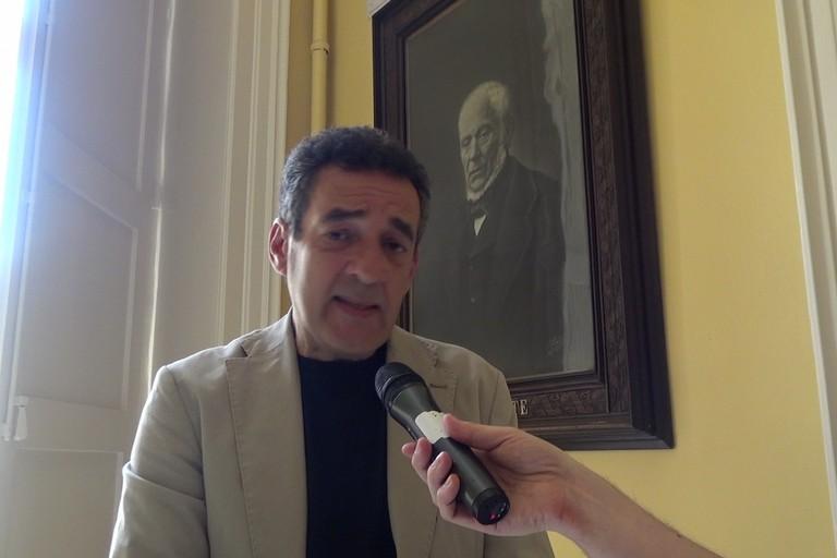 L'assessore Nino Perrone