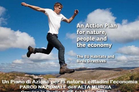 piano d'azione -Parco Nazionale Alta Murgia