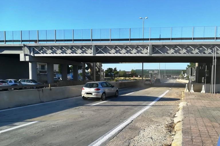 Ponte di Modugno sulla strada statale 96