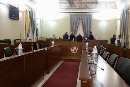 consiglio comunale, aula vuota