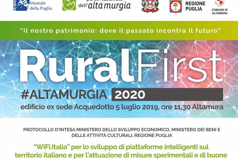 Ruralfirst#AltaMurgia 2020